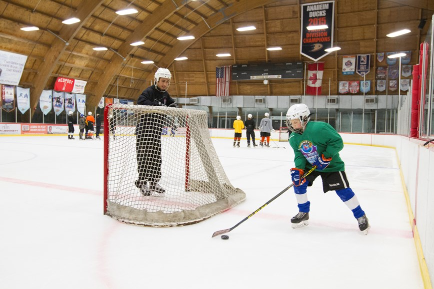All World Hockey Camps Hockey Great Park Ice Fivepoint Arena