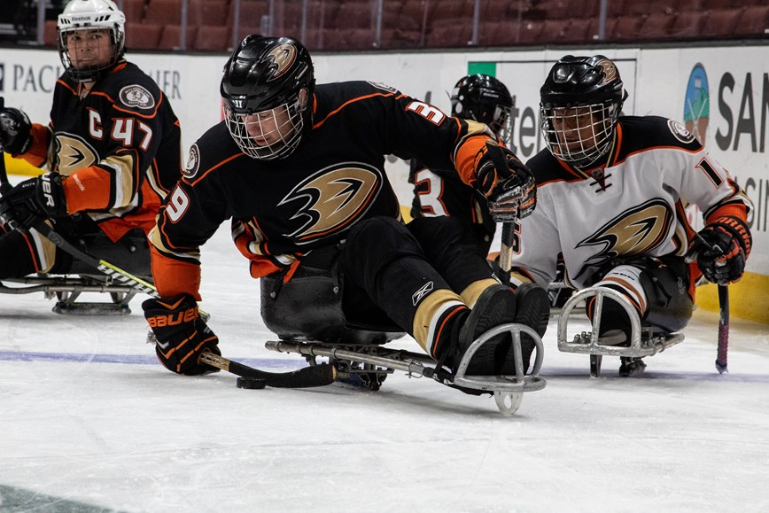 Pacific Sled Hockey League Tournament Events Great Park Ice
