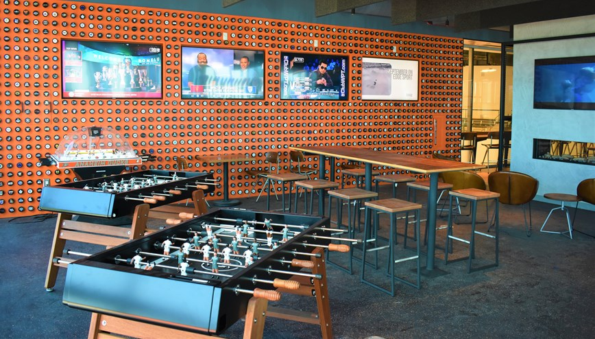Enjoy Shuffleboard ad Air Hockey in the BTR Gaming Lounge!