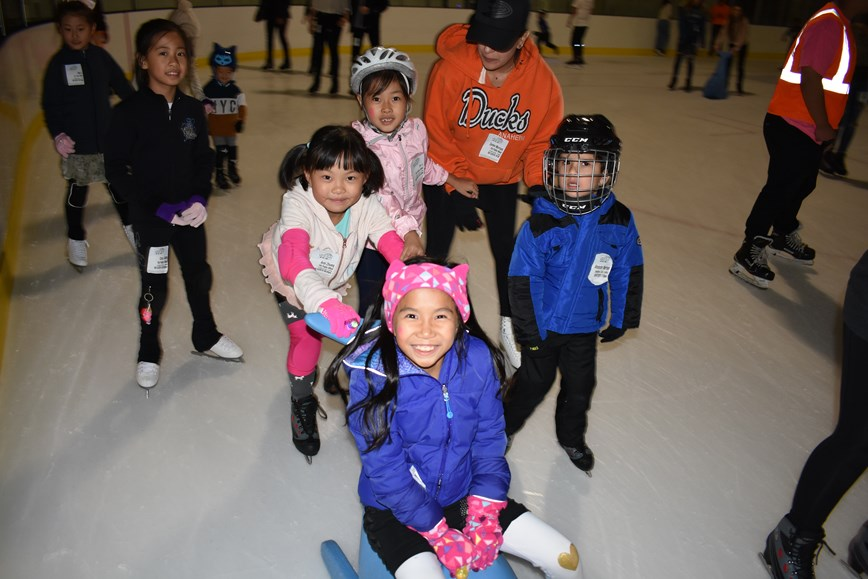 Have a blast with your friends and make new ones on the ice!